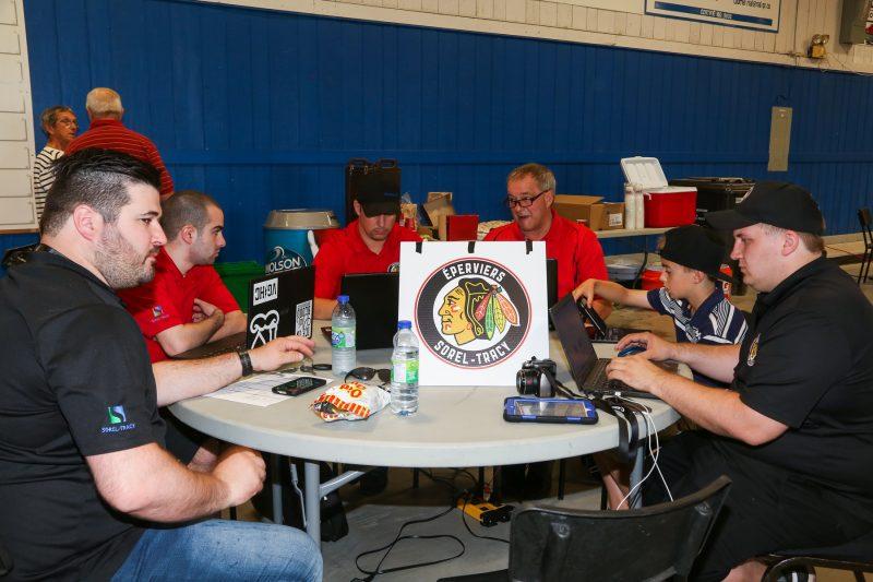 Les équipes de LNAH se réuniront à Sorel-Tracy le 5 août pour la séance de repêchage. | TC Média - Archives/Pascal Cournoyer