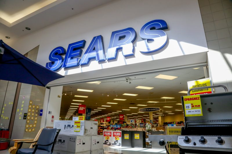 Une quarantaine de personnes perdront leur emploi avec la fermeture de Sears liquidation aux Promenades de Sorel. | Pascal Cournoyer