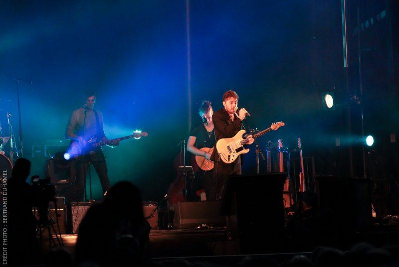 La passion d'Antoine Lachance s'est transmise au public présent lors de la soirée de clôture du Festival international de la chanson de Granby le 27 août dernier. | Gracieuseté
