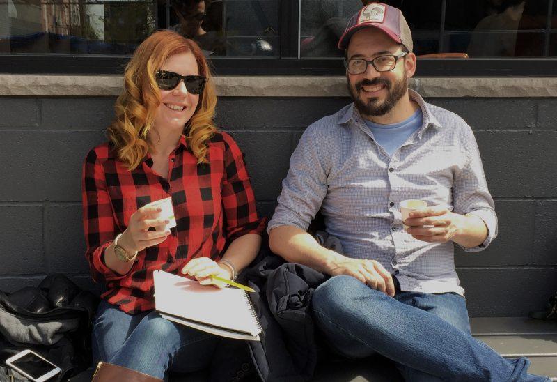 Marie-Christine Lachance et Mike Pelland se sont lancé dans le monde de l'édition de livres. | Photo: Gracieuseté
