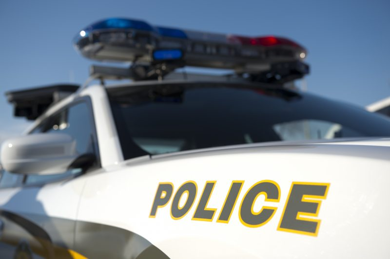 Une collision a eu lieu à l'intersection du boulevard Fiset et du chemin de la Vallières le 29 septembre.   Agence QMI