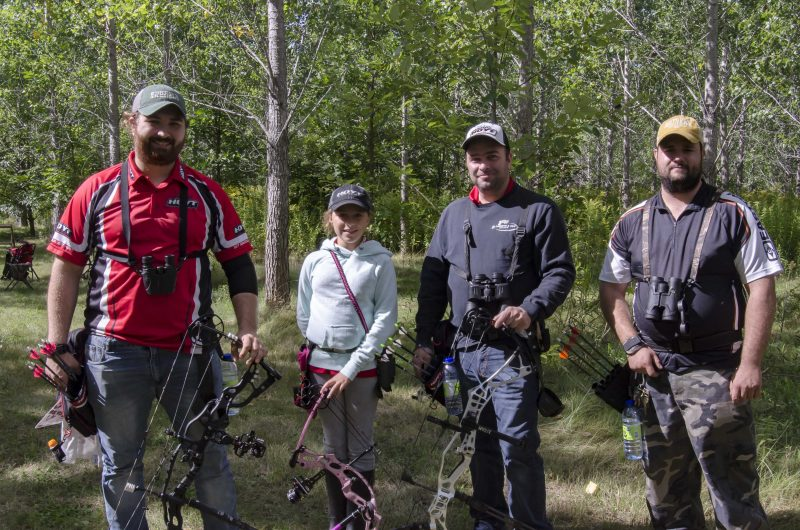 Le tir à l'arc est pratiqué par plusieurs adeptes à Sorel-Tracy. | Photo: TC Média – Stéphane Martin