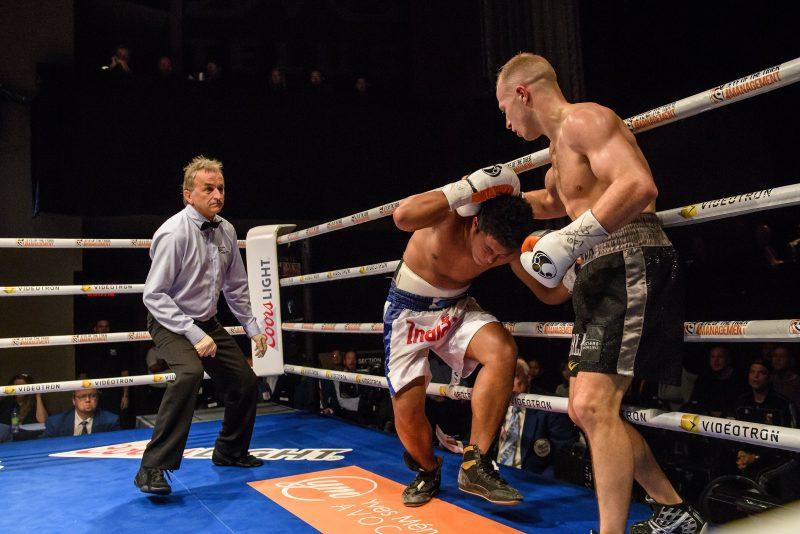 Gala de boxe Ulysse vs Claggett - MTelus ©EOTTM/Vincent Ethier | Photos par Photo: Vincent Éthier/Eye of the Tiger Management, Vincent Ethier © 2017