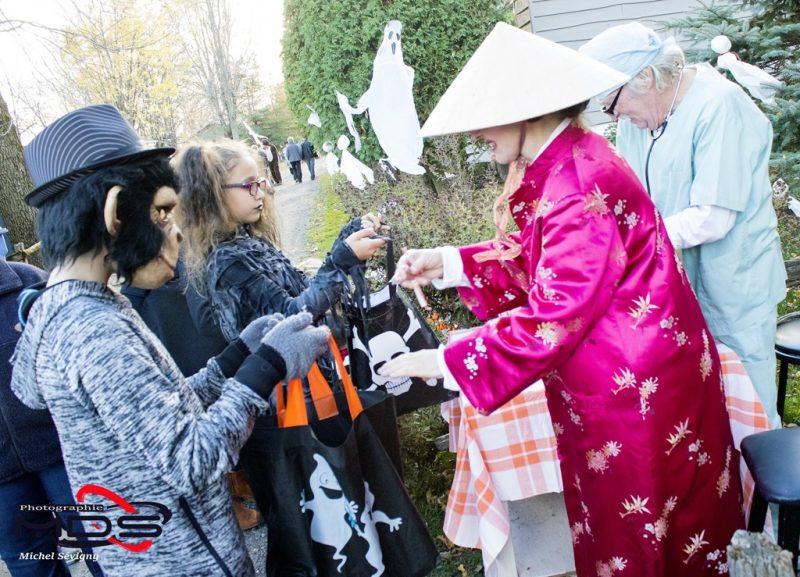 La 3e édition de la Fête d'Halloween à l'Île-aux-Fantômes a une fois de plus été couronnée de succès. | Photos par Michel Sévigny