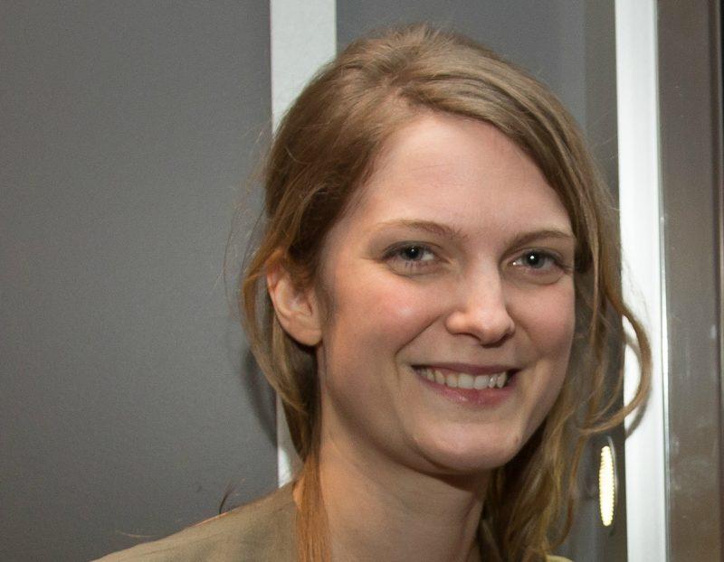 La cinéaste originaire de Saint-Aimé, Geneviève Dulude-De Celles   Photo: TC Média - Pascxal Copurnoyer