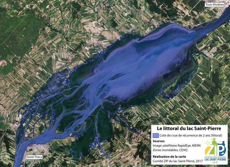 La Table de concertation du lac St-Pierre mettra en place un plan d'action pour sauvegarder le cours d'eau. | Gracieuseté