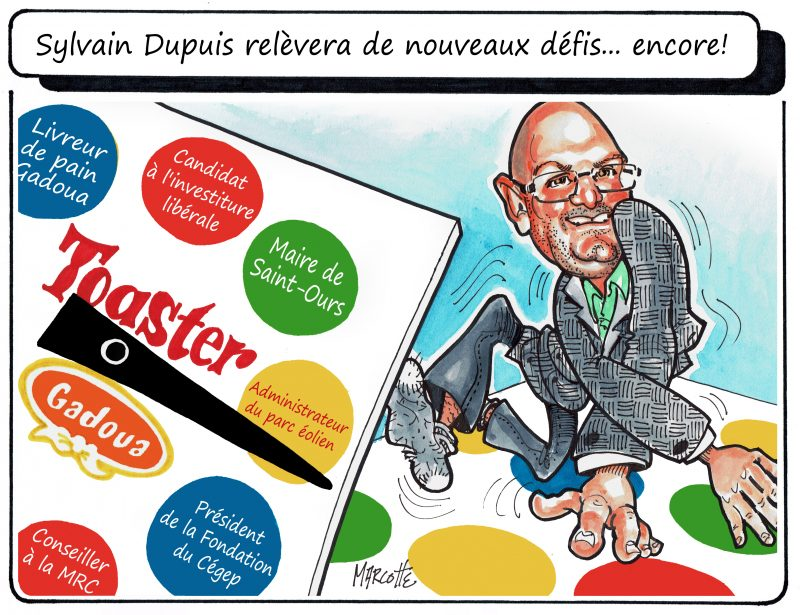 Sylvain Dupuis ajoute encore de nouvelles cordes à son arc! | Gilles Bill Marcotte