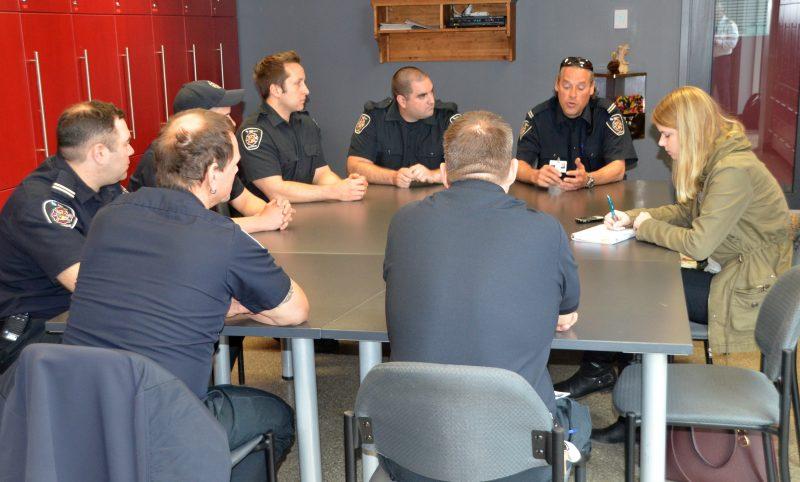 Les pompiers de Sorel-Tracy se sont confiés au Journal. | TC Média - Jean-Philippe Morin