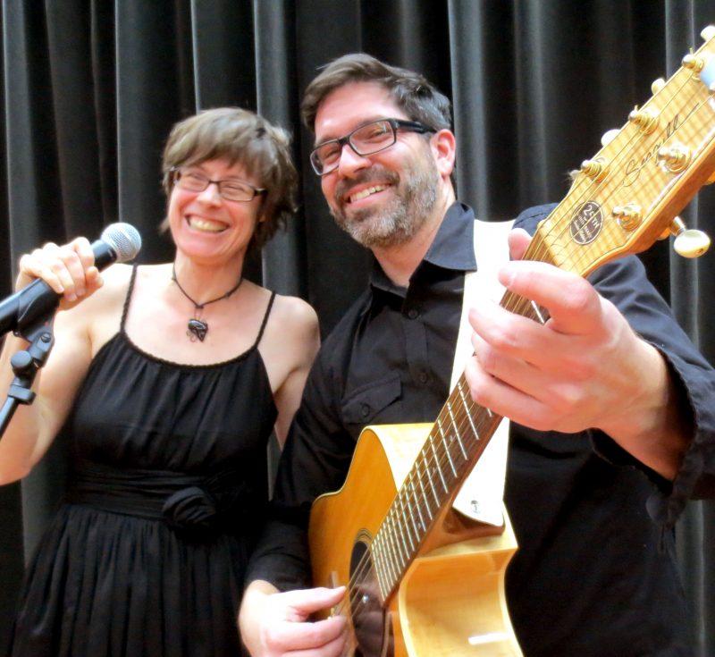 Le duo Padam Padam offrira un concert ce soir, à 19h, au parc des Bateaux blancs. | Photo: Gracieuseté