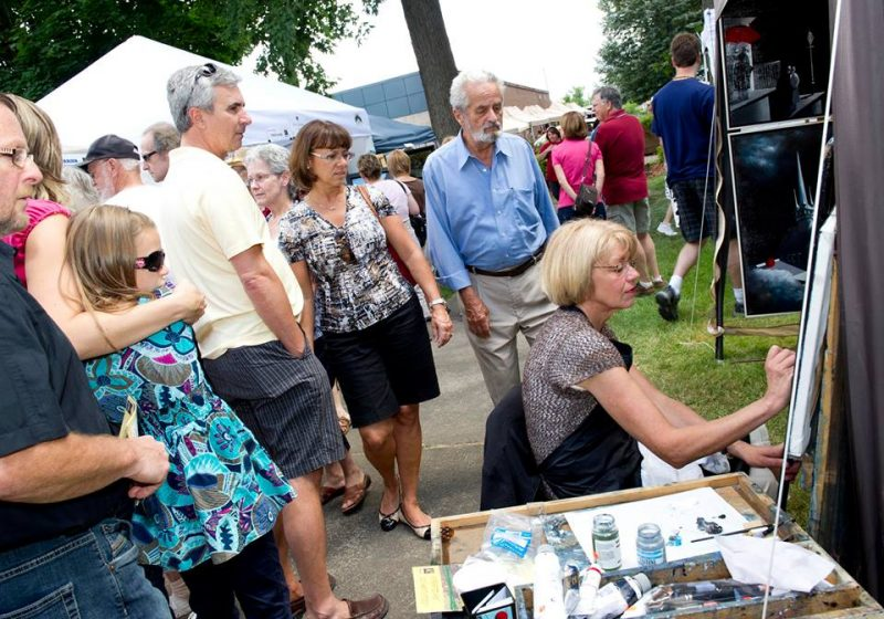 Le carré Royal sera animé le 19 août pour  la 10e édition du Symposium des Arts. | Photo: Gracieuseté