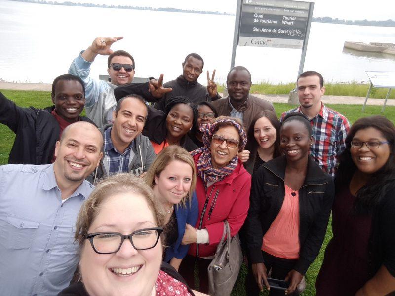 Une douzaine d'immigrants ont visité la région en septembre lors d'une visite exploratoire. |  © Gracieuseté