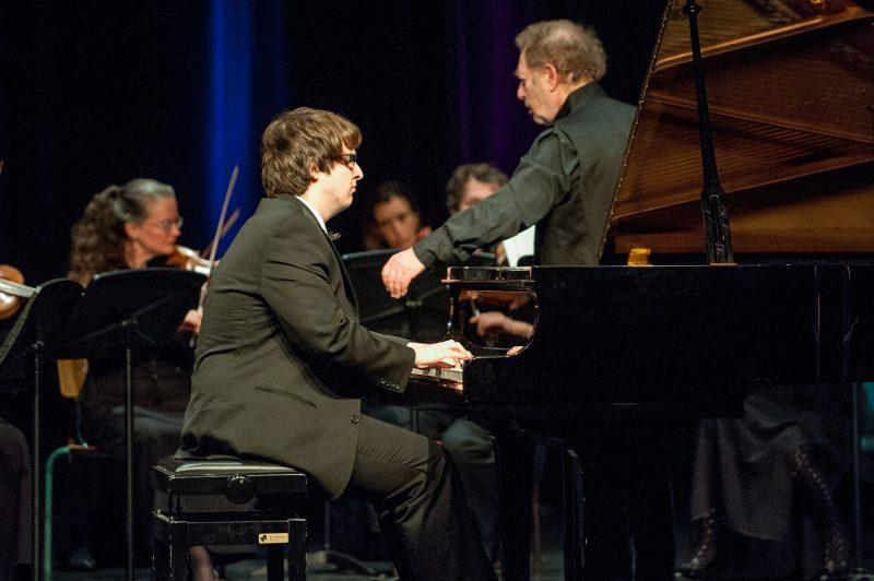 Charles Richard-Hamelin, lors du concert-bénéfice du Concours-Festival de musique classique Pierre-De Saurel en 2008. | Photo: Gracieuseté Philippe Manning