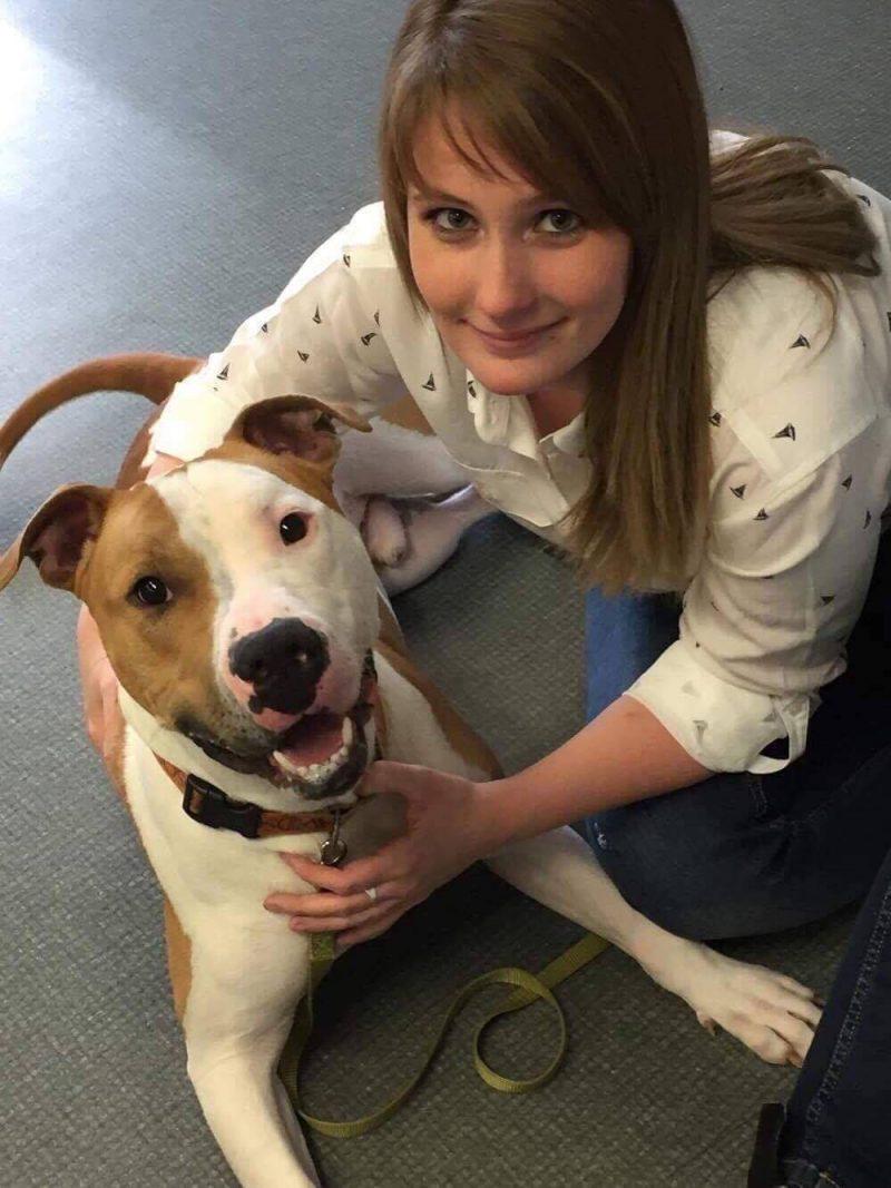 Karine Marcotte croit que les maîtres ont une part de responsabilité du comportement de leur chien. | Photo: Gracieuseté