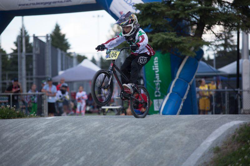 Richelieu-Yamaska a à nouveau brillé en BMX aujourd'hui. Deux de ses athlètes ont accédé à la finale en course. | Photo : Robert Mahaits