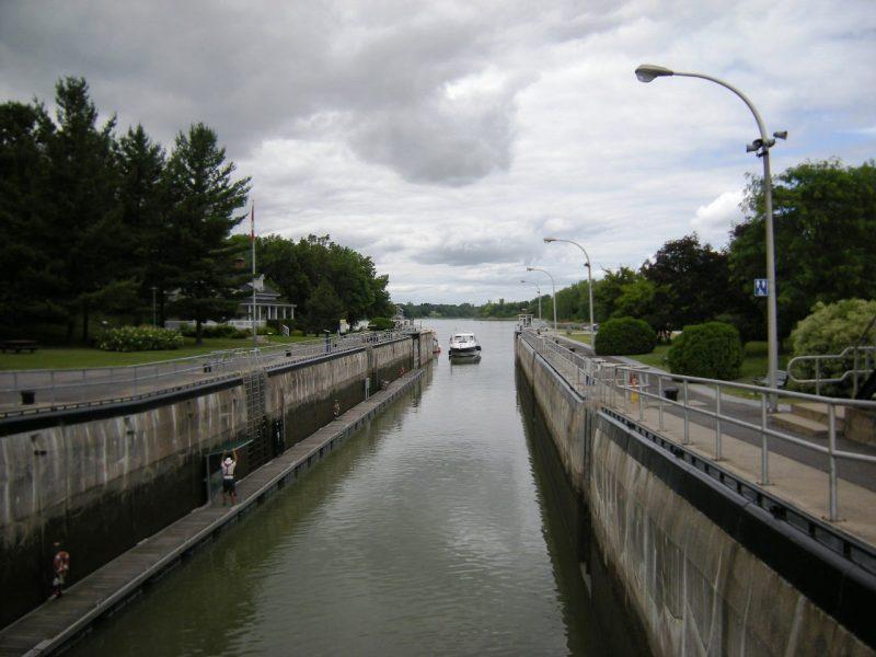 C'est au canal St-Ours que se tiennent les célébrations de la fête du Canada, en après-midi. | TC Média - Archives