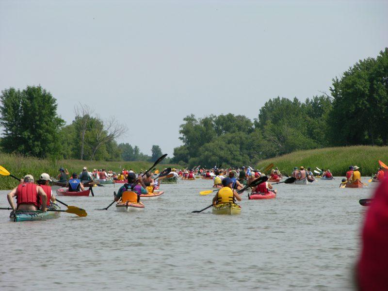 La Virée de Contrecœur rassemblera les amateurs de canot, kayak et rabaska le 3 juin. | Gracieuseté