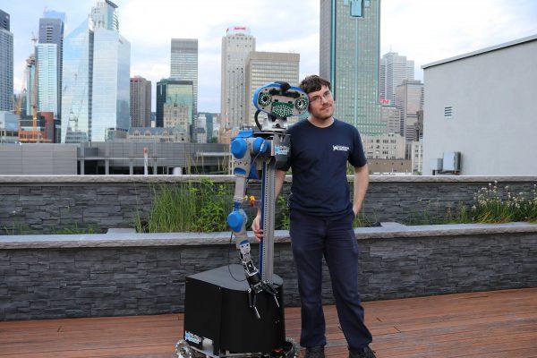 Un Sorelois développe un robot domestique