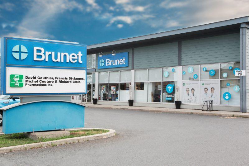La pharmacie Brunet de Contrecœur a été entièrement rénovée. (Photo: gracieuseté)