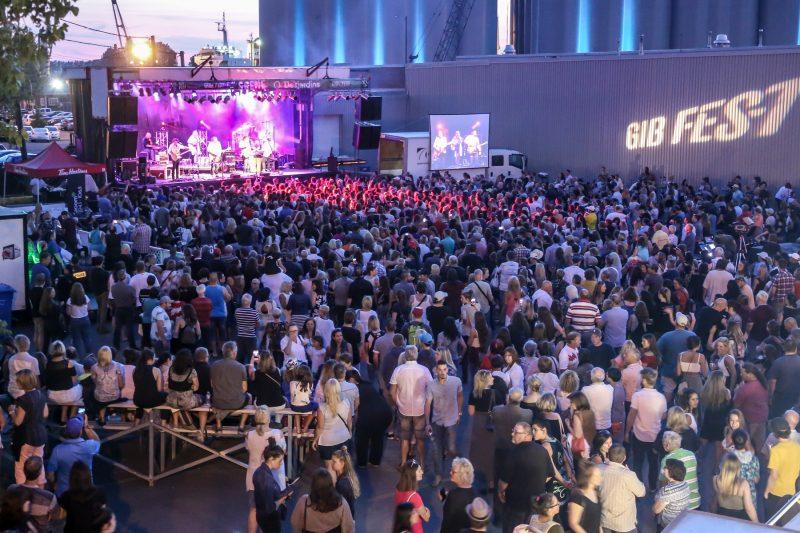 Le Gib Fest a attiré plusieurs personnes lors de la deuxième fin de semaine. Voici quelques photos prises les 12 et 13 juillet. (Photo: Pascal Cournoyer)