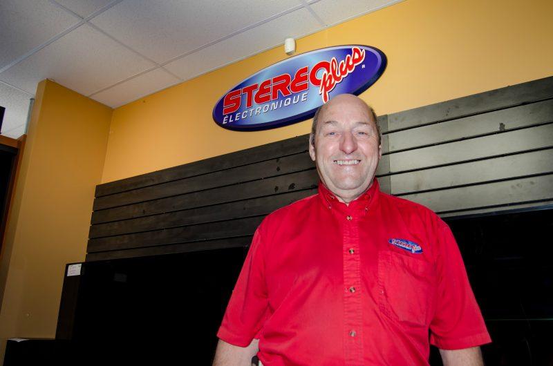 Marcel Guimond fermera son entreprise Stereo Plus dans deux mois. (Photo: Stéphane Martin)