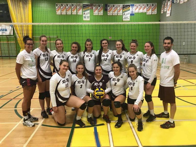 L'équipe féminine de volleyball vise un top 10 aux Jeux du Québec
