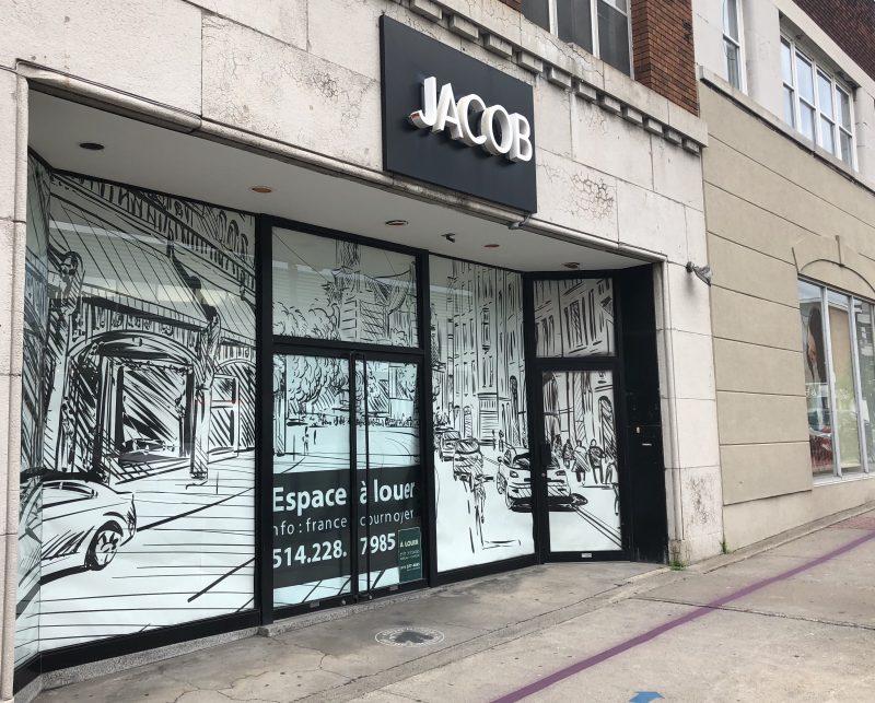 La boutique Jacob de Sorel-Tracy, la dernière toujours en activité, est officiellement fermée. (Photo: Xavier Demers)