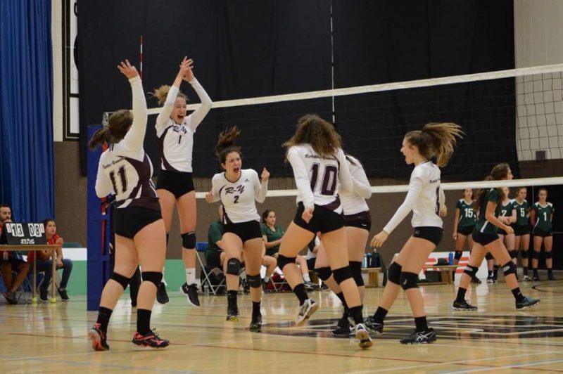 L'équipe féminine de volleyball de Richelieu-Yamaska a conclu les Jeux du Québec au 16e rang. (Photo: gracieuseté)