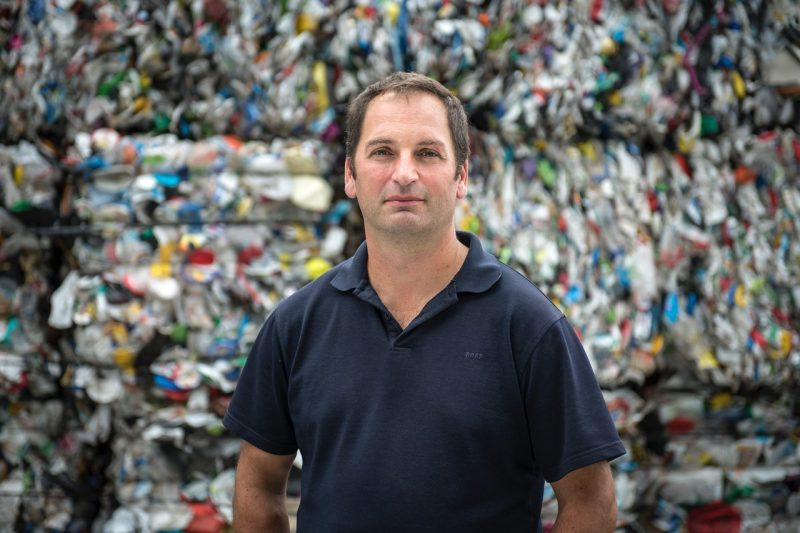 Le président d'Absolu technologies de recyclage, Martin Ménard (Photo: gracieuseté)