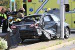 Violente collision à l'intersection A30/Ramezay à Sorel-Tracy