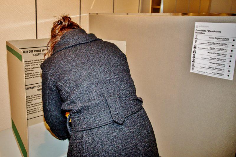 Sept candidats ont été officiellement investis dans les circonscriptions de Richelieu et de Verchères en date du 21 août. (Photo : archives)