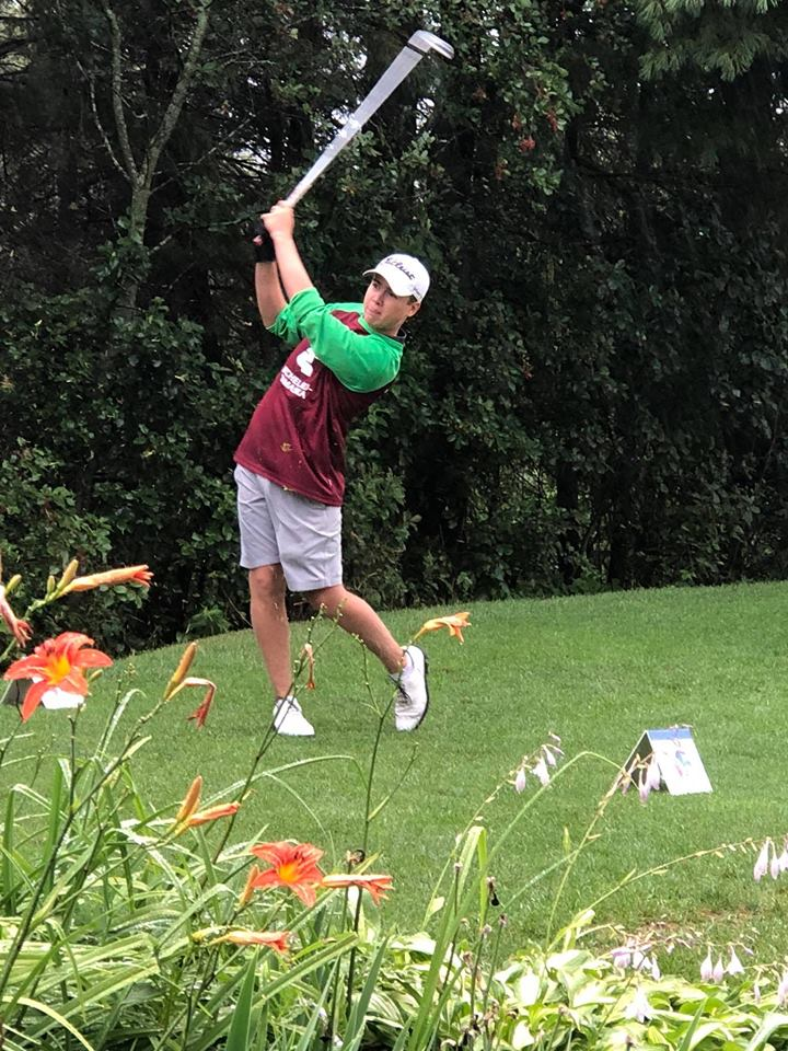 Le golfeur Jérémy Godin a participé pour la première fois aux Jeux du Québec. (Photo: gracieuseté)