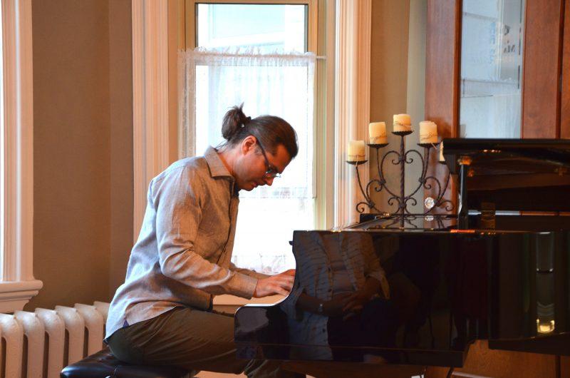 Le pianiste Serhiy Salov est l'une des têtes d'affiche de la programmation de la Maison de la musique. (Photo: Xavier Demers)