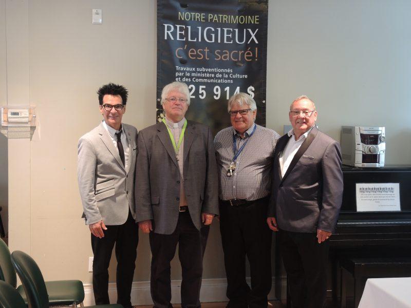 La Fondation de l'Église Christ Church espère amasser 56500$ pour s'ajouter à la subvention de 225000$ du gouvernement pour ses travaux de réfection. (Photo: Xavier Demers)