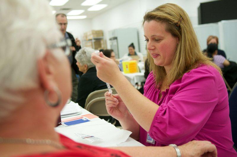 Les vaccins contre la grippe seront offerts dès le 1er novembre