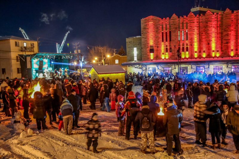 Deux sites animés au centre-ville pour marquer la nouvelle année