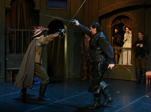 Un des combats d'épée que les spectateurs pourront observer. Photo gracieuseté