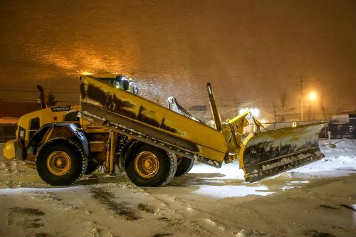 La tempête du 12 et 13 février est une des plus importantes cette saison.  Photo Pascal Cournoyer | Les 2 Rives ©