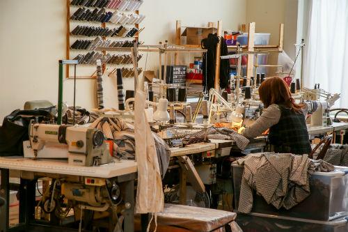 L'atelier de Ruelle est situé sur la rue Royale à Massueville.  Photo Pascal Cournoyer | Les 2 Rives ©