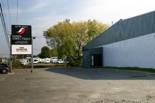Le Centre Honda Sorel-Tracy à Saint-Robert rouvrira ses portes seulement pour la prochaine saison. Photothèque | Les 2 Rives ©