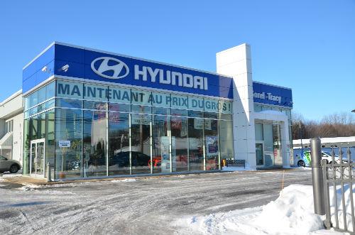 Les travaux chez Hyundai Sorel-Tracy devraient débuter le 1er avril prochain.  Photo Katy Desrosiers | Les 2 Rives ©