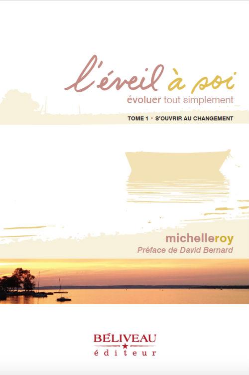 L'éveil à soi est le quatrième livre de Michelle Roy.  Photo gracieuseté