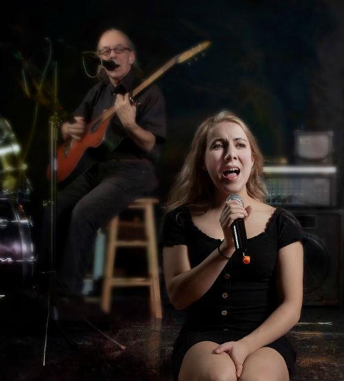 Lunia Drapeau, alias Lunia Céleste, interprétera des chansons de l'artiste Zaz pour le spectacle-bénéfice.  Photo gracieuseté