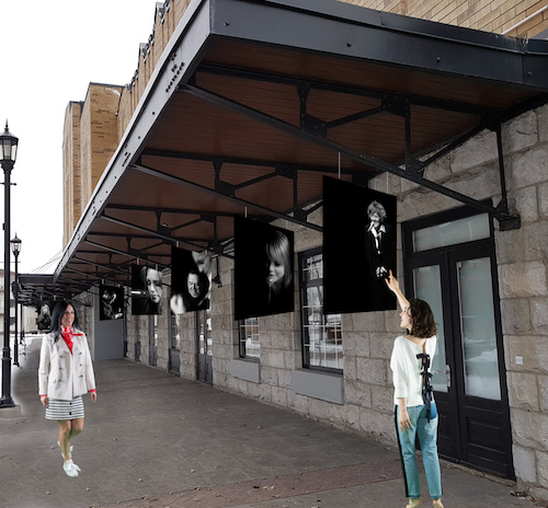 L'exposition présentée cet été par Maurice Parent prendra cette forme, au Marché des arts Desjardins. Photo Maurice Parent