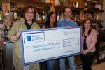 Le Forestier bar à tapas remet 428 $ à la Fondation du Cégep de Sorel-Tracy