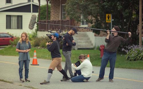 Une partie du tournage du film Une Colonie a eu lieu dans la région, entre autres, à Odanak.  Photo Léna Mills-Reuillard