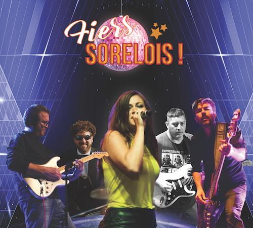 Le groupe Fiers Sorelois s'occupera du volet musical de la soirée.  Photo gracieuseté