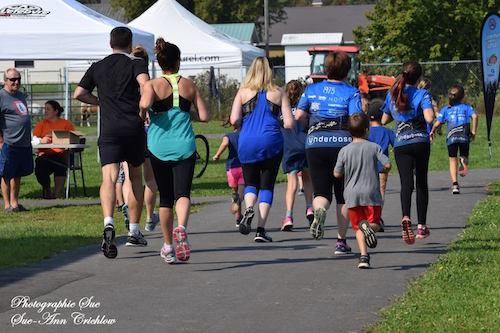 La Course Saint-Robert attire une centaine de coureurs par année. Photo Sue-Ann Crichlow