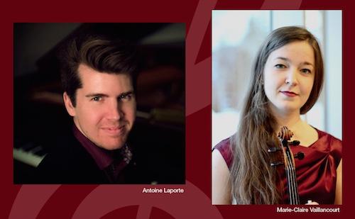 Antoine Laporte et Marie-Claire Vaillancourt seront en prestation le 7 septembre à l'Église Enfant-Jésus. Photos gracieuseté