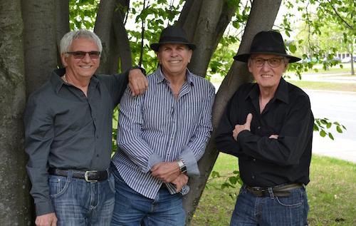 Les vieux chums seront en prestation au parc des Roitelets le 22 juillet.  Photo gracieuseté