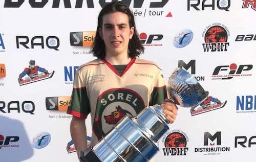 Un Sorelois double champion du monde en Dek Hockey